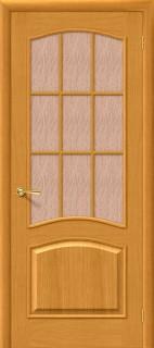 """Межкомнатная дверь """"Капри 3"""", по, дуб натуральный"""