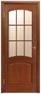 "Межкомнатная дверь ""Капри 3"", по, тон"