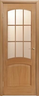 """Межкомнатная дверь """"Капри """", по, дуб светлый"""