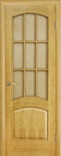"""Межкомнатная дверь """"Капри"""", по, дуб тон 4"""