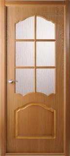 """Межкомнатная дверь """"Каролина"""", по, дуб"""