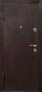 """Стальная дверь """"Йошкар"""", карпатская ель"""