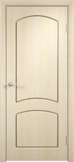 """Межкомнатная дверь ПВХ """"Кэролл"""", пг, беленый дуб"""