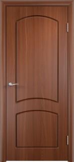 """Межкомнатная дверь ПВХ """"Кэролл"""", пг, итальянский орех"""