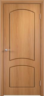 """Межкомнатная дверь ПВХ """"Кэролл"""", пг, миланский орех"""