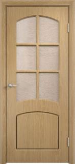 """Межкомнатная дверь ПВХ """"Кэролл"""", по, дуб"""