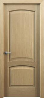 Межкомнатная дверь Классик 104, пг, дуб