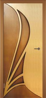 """Межкомнатная дверь """"Корона"""", пг, дуб-орех"""
