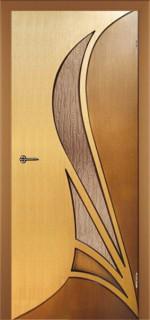 """Межкомнатная дверь """"Корона"""", по, дуб-орех"""