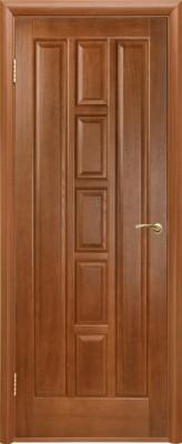 "Межкомнатная дверь ""Квадро"", пг, каштан"