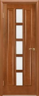"""Межкомнатная дверь """"Квадро"""", по, каштан"""
