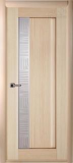 Межкомнатная дверь Ланда, по, беленый дуб