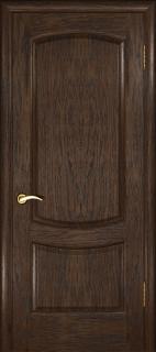 "Межкомнатная дверь ""Лаура 2"", пг, мореный дуб темный"