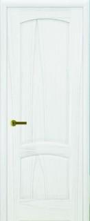 """Межкомнатная дверь """"Лаура"""", пг, дуб белая эмаль"""