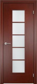 """Межкомнатная дверь """"Лесенка"""", по, красное дерево"""