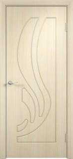 """Межкомнатная дверь ПВХ """"Лотос"""", пг, беленный дуб"""