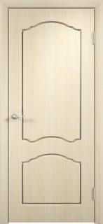 """Межкомнатная дверь ПВХ """"Лилия"""", пг, беленый дуб"""