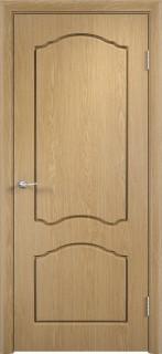 """Межкомнатная дверь ПВХ """"Лилия"""", пг, дуб"""