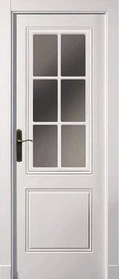 """Межкомнатная дверь """"ISLAS PR-31"""", по, белая"""
