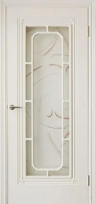 """Межкомнатная дверь """"ISLAS PR-50"""", по, белая"""