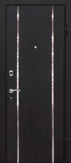 Стальная дверь М-8, черный