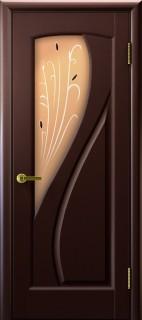 """Межкомнатная дверь """"Мария"""", по, венге"""