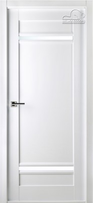 """Межкомнатная дверь """"Матрикс 01"""", по, бьянко нобиле"""