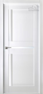 """Межкомнатная дверь """"Матрикс 02"""", по, бьянко нобиле"""