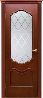 """Межкомнатная дверь """"Милан"""", по, итальянский орех"""