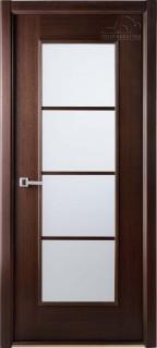 """Межкомнатная дверь """"Модерн люкс"""", по, венге"""
