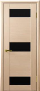 """Межкомнатная дверь """"Хеопс, по, беленый дуб"""