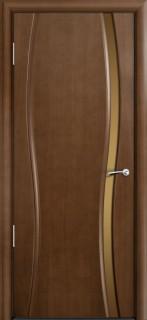 Межкомнатная дверь Омега, поу, американский орех