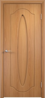 """Межкомнатная дверь ПВХ  """"Орбита"""", пг, миланский орех"""