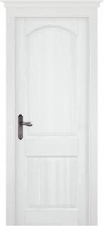 "Межкомнатная дверь ""ОСЛО"" (MARCHE), пг, Эмаль Белая (RAL 9010)"