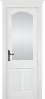 "Межкомнатная дверь ""ОСЛО"" (MARCHE), по, Эмаль Белая (RAL 9010)"