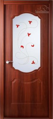 """Межкомнатная дверь """"Перфекта"""", по, рис.14, итальянский орех"""