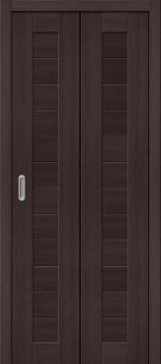 """Складная дверь """"Порта-21"""", пг, Wenge veralinga"""