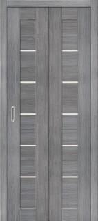 """Складная дверь """"Порта-22"""", по, Grey veralinga"""