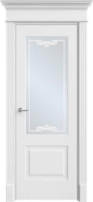"""Межкомнатная дверь """"Прима 2"""", по, белый"""