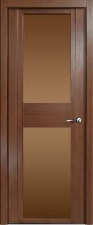 Межкомнатная дверь Qdo D, по, дуб палисандр