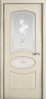 """Межкомнатная дверь """"Рим"""", по, ясень жемчуг"""