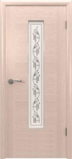 """Межкомнатная дверь """"Рондо"""", по, беленый дуб"""