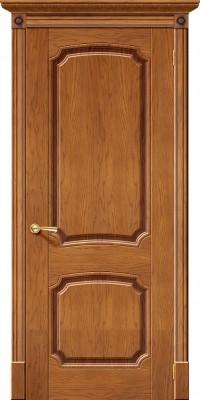 """Межкомнатная дверь """"Мадрид"""", пг, медовый дуб"""