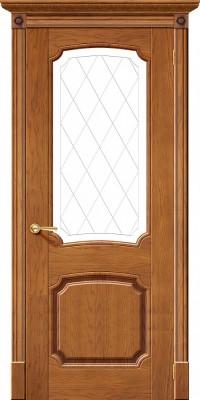 """Межкомнатная дверь """"Мадрид"""", по, медовый дуб"""