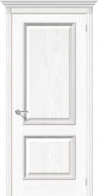 "Межкомнатная дверь ""Шервуд"", пг, белый дуб"