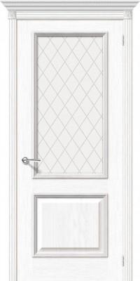 "Межкомнатная дверь ""Шервуд"", по, белый дуб"