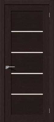 """Межкомнатная дверь """"Токио 5"""", по, черный дуб"""