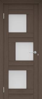 """Межкомнатная дверь """"Шахматы"""", по, грей"""