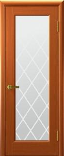 """Межкомнатная дверь """"Сицилия"""", по, темный анегри"""