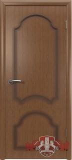 """Межкомнатная дверь """"Кристалл"""", пг, орех"""